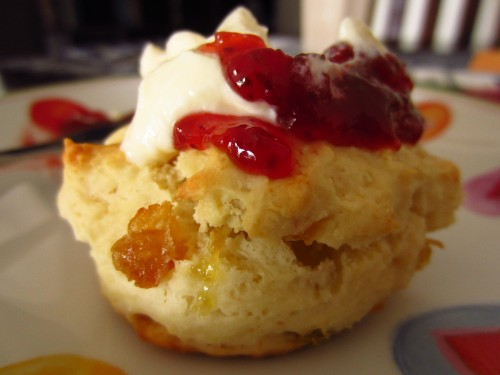 Scones for Breakfast